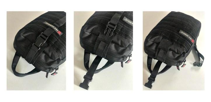 MyMedic MyFAK large, handle, securing strap.