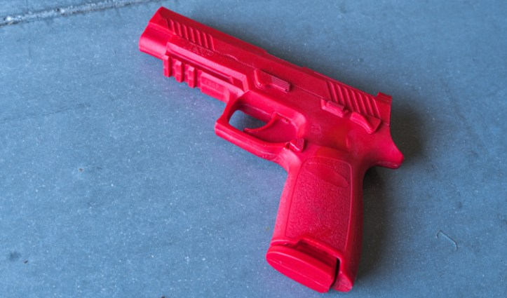 ASP Drop-mag M17 red training gun