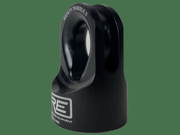 Safety Thimble II Black - Side Shot