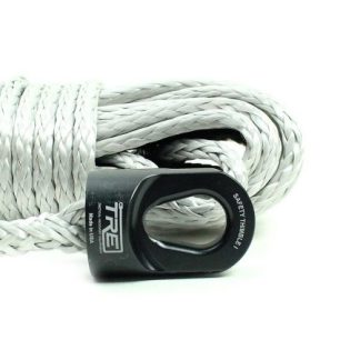 "1/4"" Silver Winch Rope & Safety Thimble"