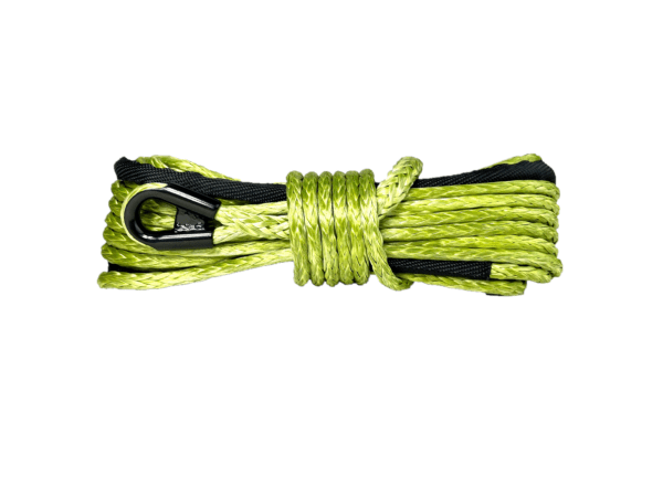 """1/4"""" Military Green Winch Rope"""