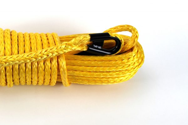 """/8"""" x 85 ft. Yellow Winch Rope"""