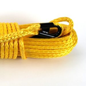 "/8"" x 85 ft. Yellow Winch Rope"