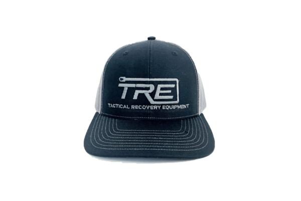 TRE Black Snapback Hat