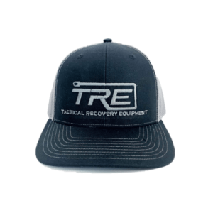 TRE Black Snapback Hat