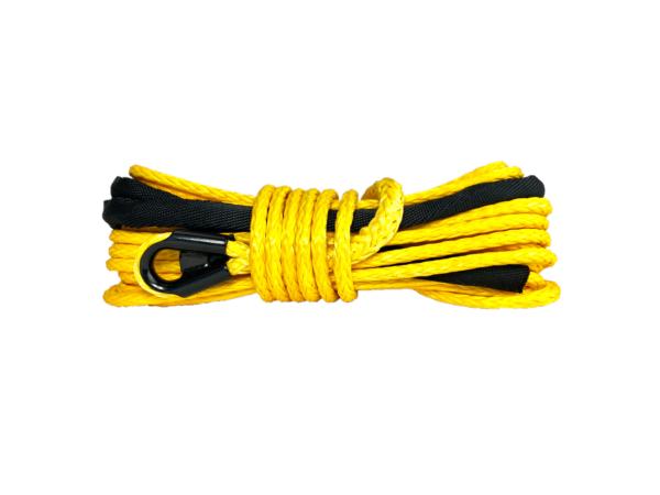 """3/8"""" Yellow Winch Rope"""