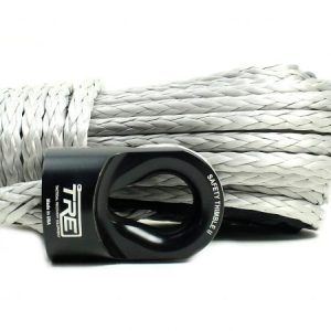 7/16″ Silver Winch Rope & Safety Thimble