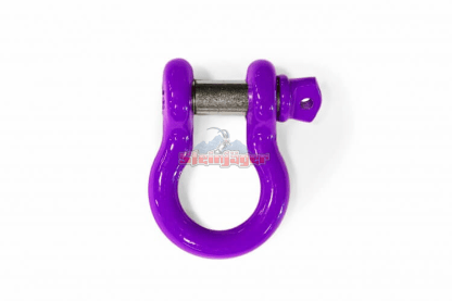 """Purple D-Ring - 3/4"""" Bow Shackle 