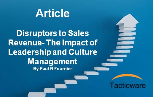 Sales Revenue Disruptors