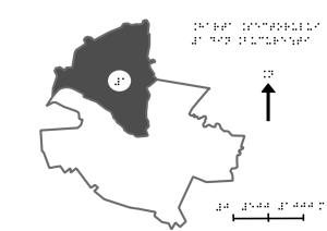 map of the first district of bucharest