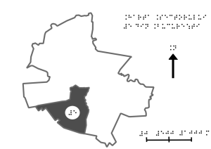 map of the fifth district of bucharest