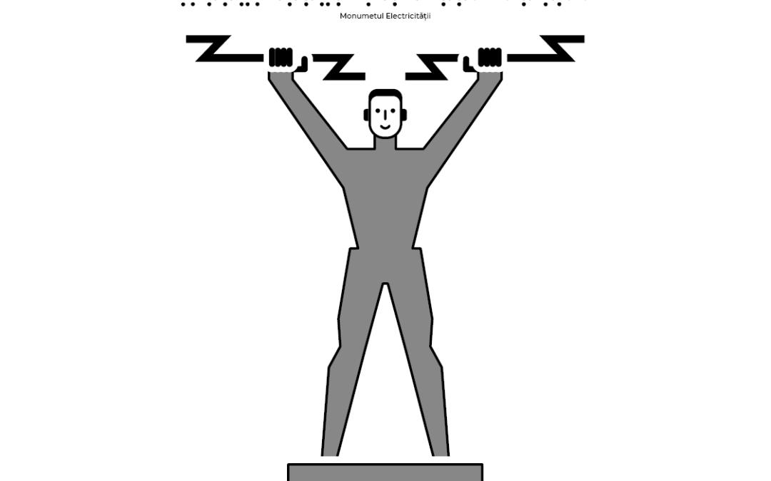 Statuia electricității de la barajul Vidraru