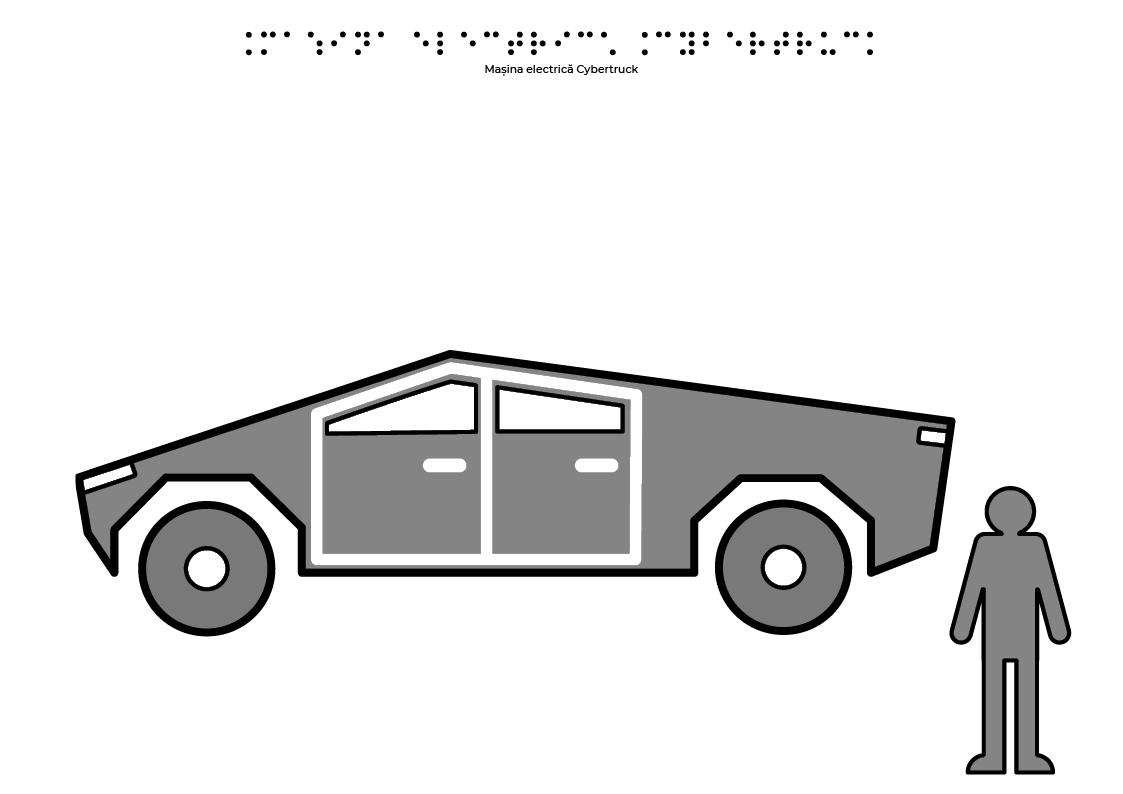 Mașina electrică Tesla Cybertruck