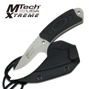 MX-8035 4-inch Curved Fixed Stainless Knife