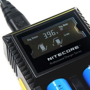 NITECORE D2 Dual Digital Battery Charger