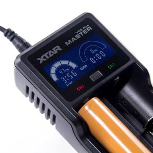 XTAR Master VC2 PLUS Dual Li-ion USB Digital Battery Charger