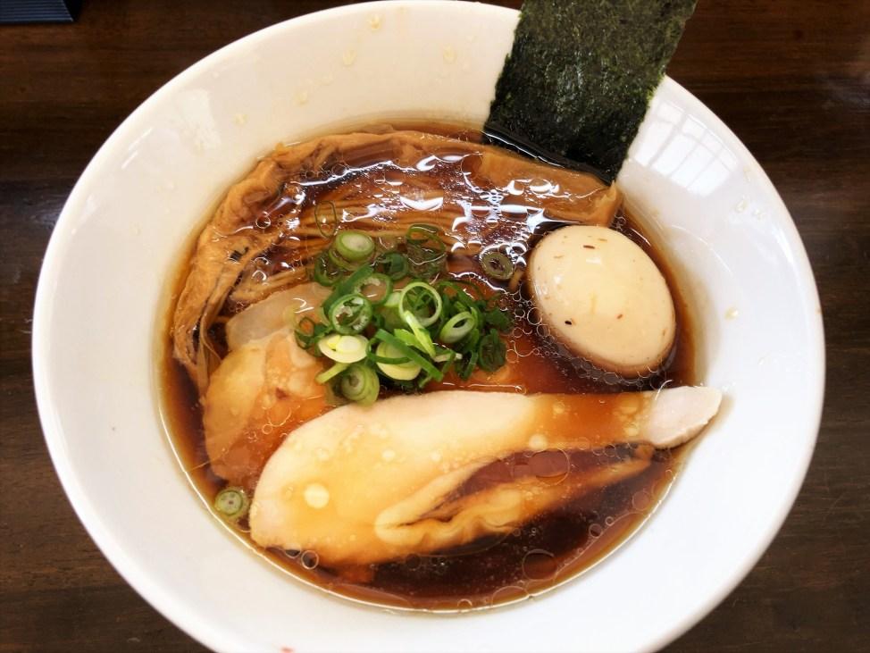麵や まえ田「特製鶏らぁ麺醤油」