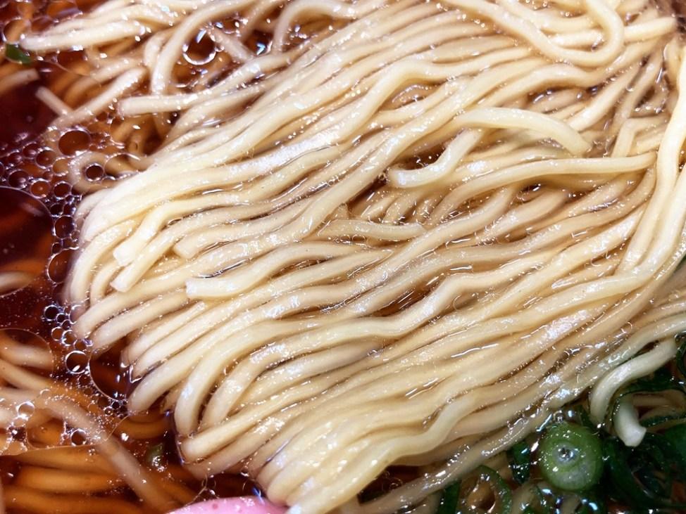 麺屋 田力「中華そば」麺