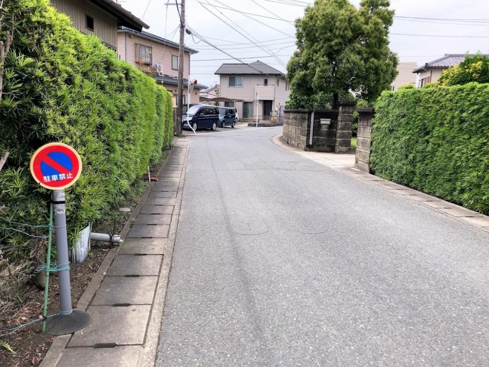 喜慕里の駐車場へのルート2
