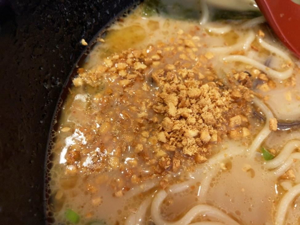 味千拉麺 袋井店「味千ラーメン(大盛り)」味変