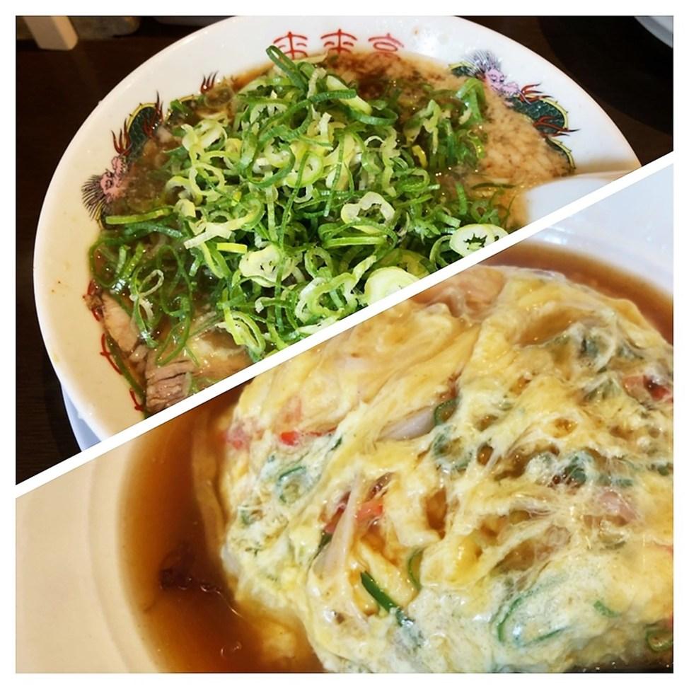 来来亭 志都呂店「天津飯定食」