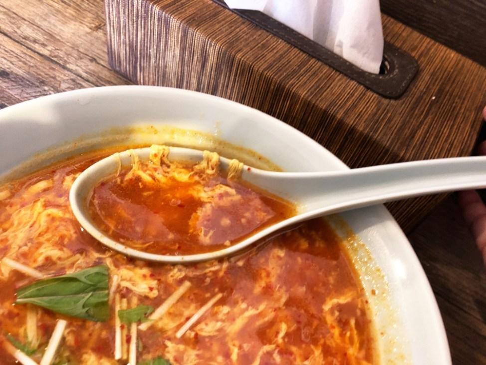 麺屋 次郎長 あねタン「中辛」スープ