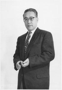 昭和30年代後半はテレビに出る機会も増えてきました。