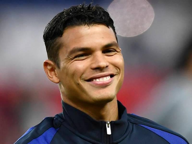 Thiago Silva, happy with his salary