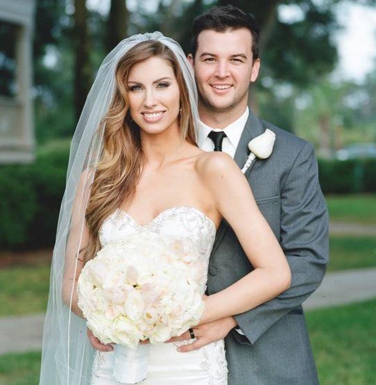 AJ McCarron mit Ehefrau Katherine Webb