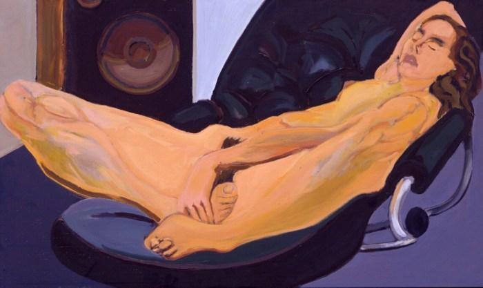 1981 02 04 Sybille Öl auf Leinwand 60x101 cm