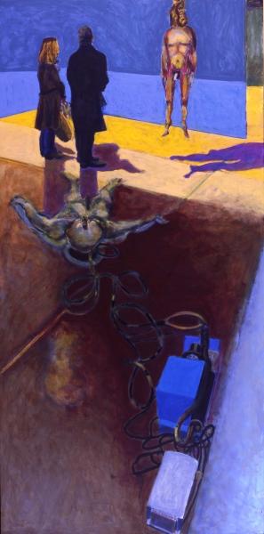 2011 06 01 Copenhagen Acryl auf Leinwand 300 x 150