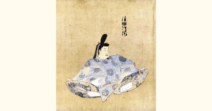 後堀河天皇肖像画