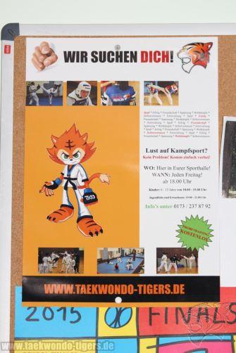 Bilder vom Sparring der Taekwondo Tigers Berlin im Wedding