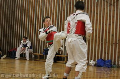 Sparring Taekwondo Tigers Berlin