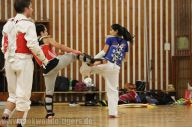 Bilder vom Sparring der Taekwondo Tigers Berlin im Wedding
