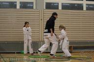 Erstes Training der Taekwondo Tigers Kinder in 2016