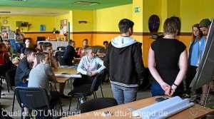 Taekwondo Tigers Berlin bei der DTU Jugendleiterausbildung