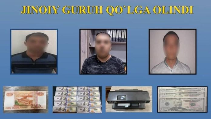 Житель Бухарской области расплатился фальшивами долларами