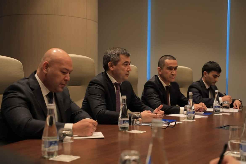 Министр энергетики РУЗ встретился с представителями делегацией ЕБРР