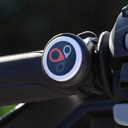 SmartButton with bike mount