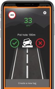 Alerts to road hazards