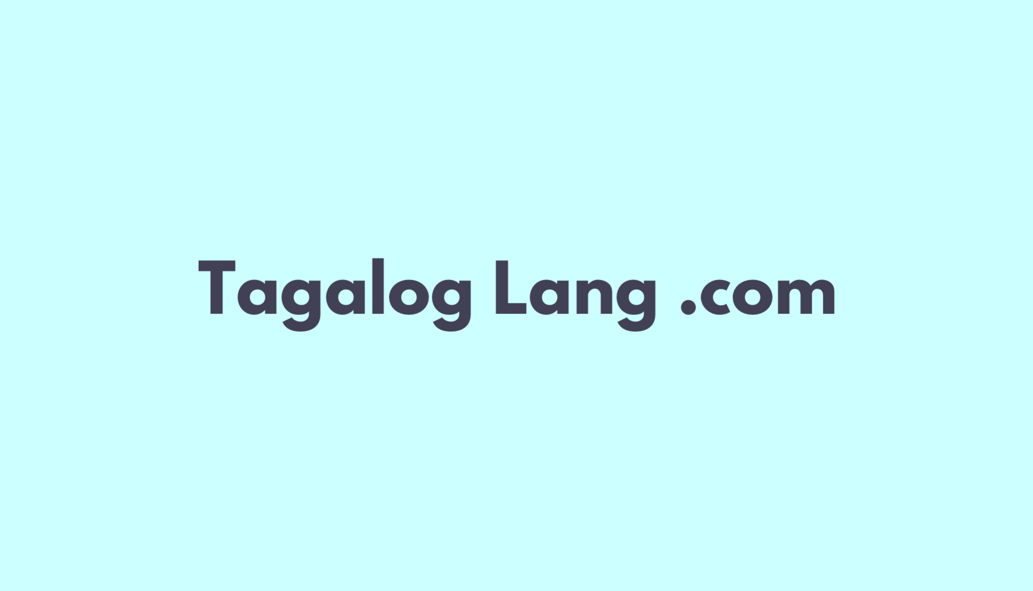 Meaning English Tagalog Dictionary
