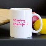 Mug with Tagalog Words!