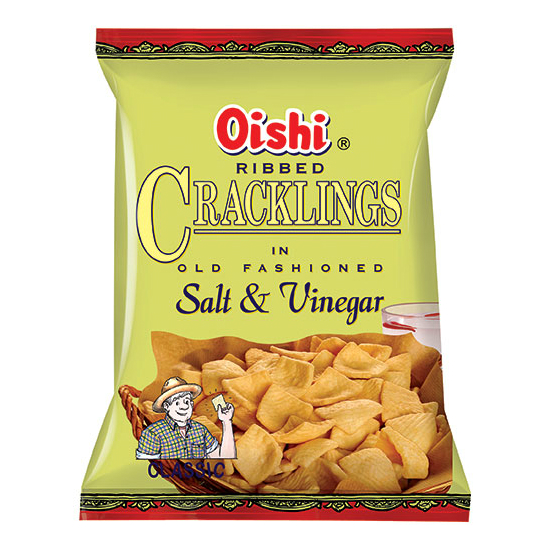 Oishi Cracklings (Salt & Vinegar)