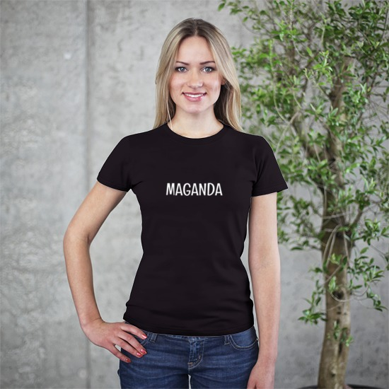 Maganda Black Shirt