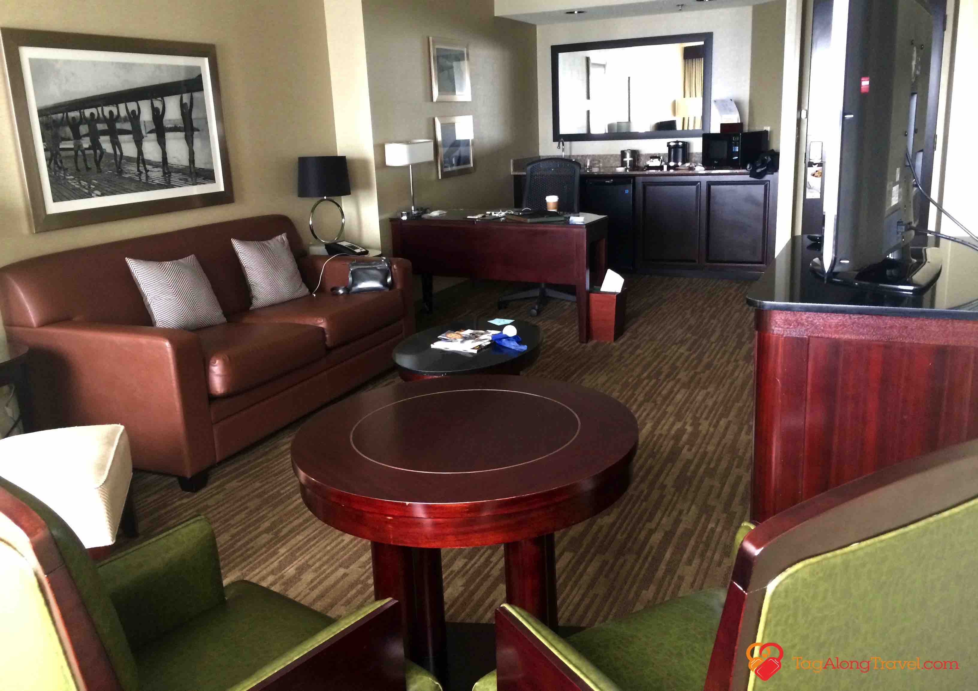 Suite At The Doubletree Hilton Columbus