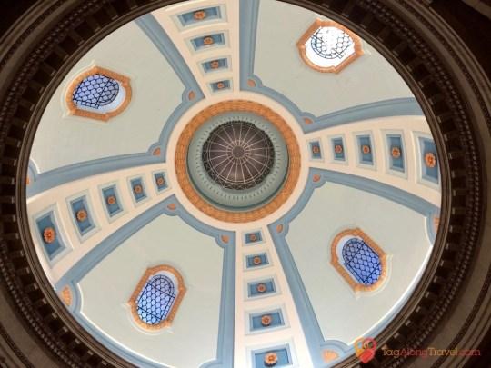 Reveiw of Hermetic Code Tour - Dome from Below