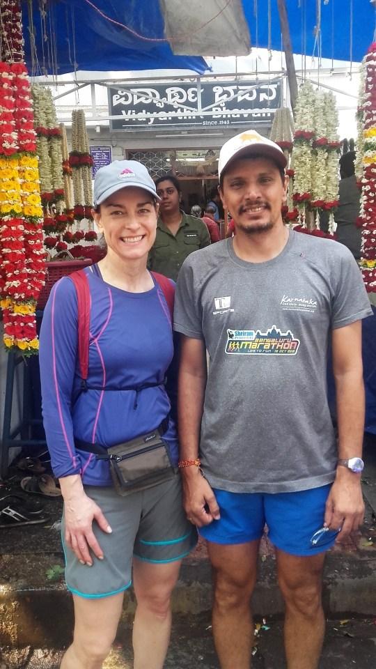 Bangalore Running & Walking Tours-Deborah and Praveen