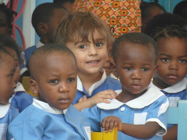 salam-silver, ghana lasteaed, jõulud, aafrika, mustad lapsed, multikulti, multikultuur, araabia, lasteaed,