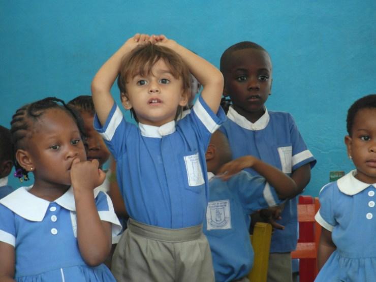 pruun laps, aafrika, multikutuur,